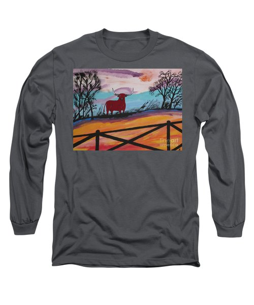 Long Sleeve T-Shirt featuring the painting Goodbye My Lover by Jeffrey Koss