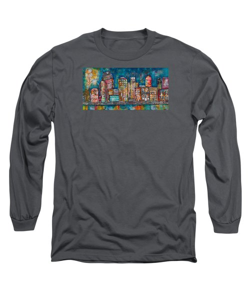 Goodnight Nashville Long Sleeve T-Shirt