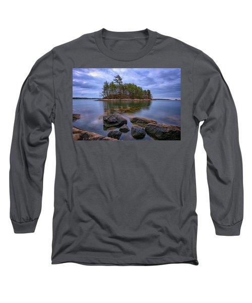 Long Sleeve T-Shirt featuring the photograph Googins Island by Rick Berk