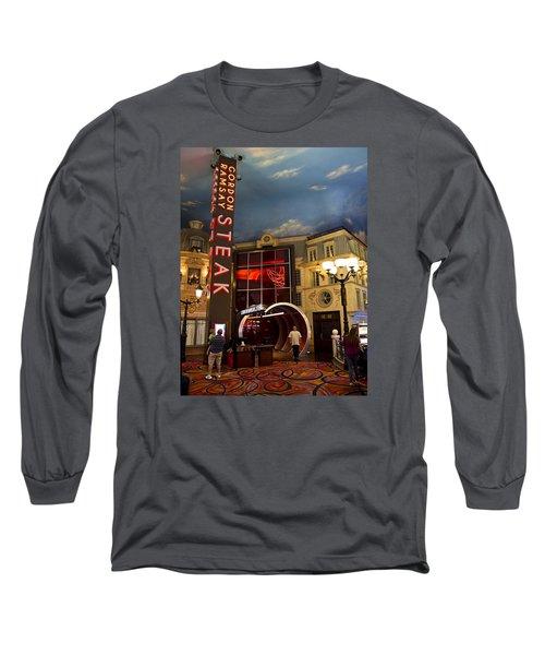 Gordon Ramsay Steak Long Sleeve T-Shirt