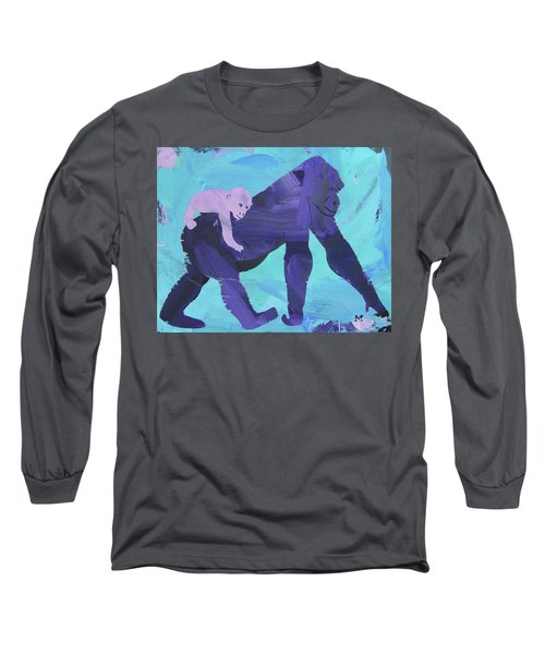Gorgeous Gorilla Long Sleeve T-Shirt
