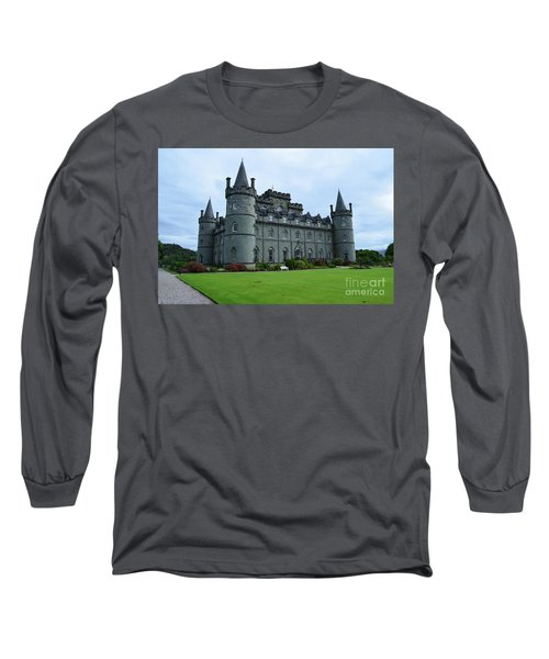 Gorgeous View Of Inveraray Castle Long Sleeve T-Shirt