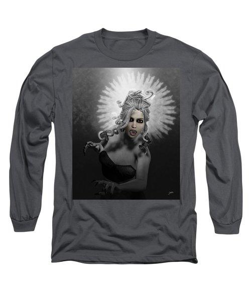 Gorgon Long Sleeve T-Shirt by Joaquin Abella