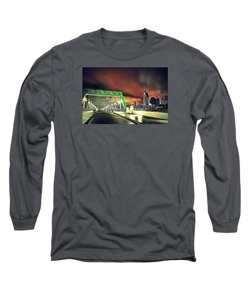 Gotham Calling Long Sleeve T-Shirt by Matt Helm