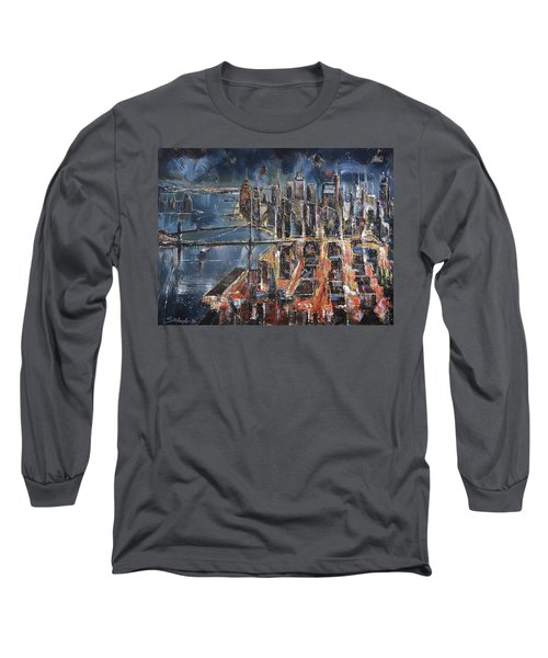 Gotham City II Long Sleeve T-Shirt