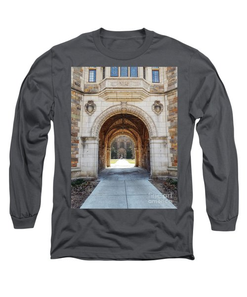 Gothic Archway Photography Long Sleeve T-Shirt