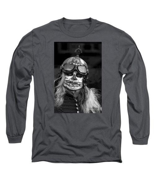 Gothic Warrior Long Sleeve T-Shirt by David  Hollingworth