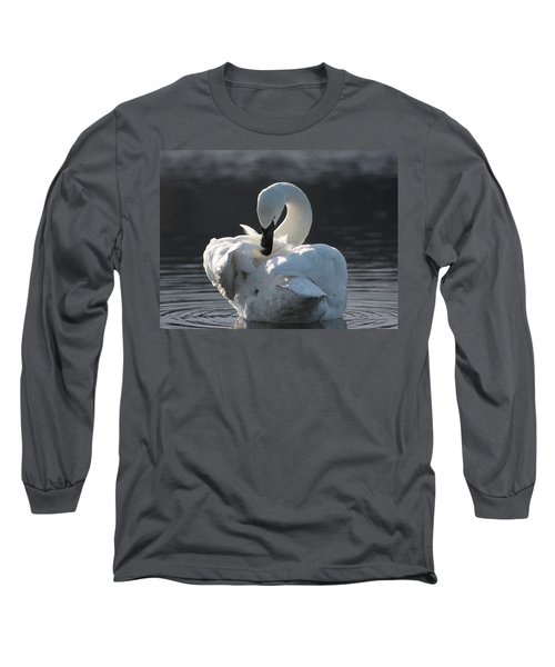 Long Sleeve T-Shirt featuring the photograph Grace by Cathie Douglas
