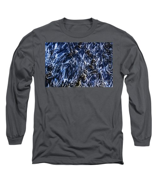 Grainy Sands And Sea Water Long Sleeve T-Shirt