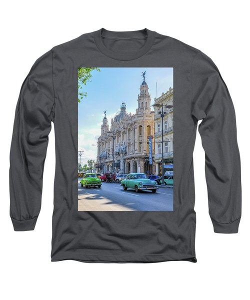 Gran Teatro De La Habana Long Sleeve T-Shirt