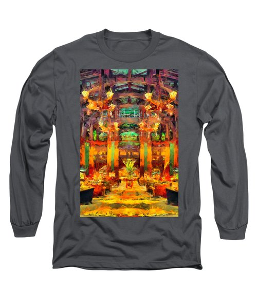 Grand Californian Resort Lobby Long Sleeve T-Shirt