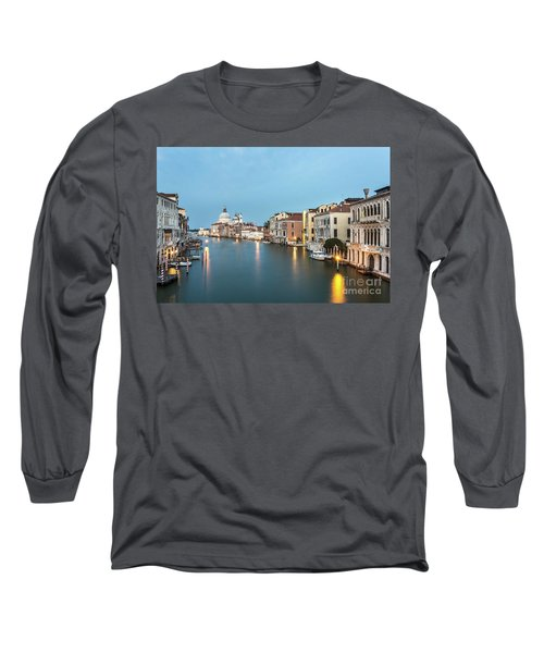Grand Canal In Venice, Italy Long Sleeve T-Shirt