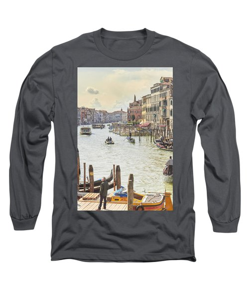 Grand Canal - The Most Famous Canal In Venice Long Sleeve T-Shirt