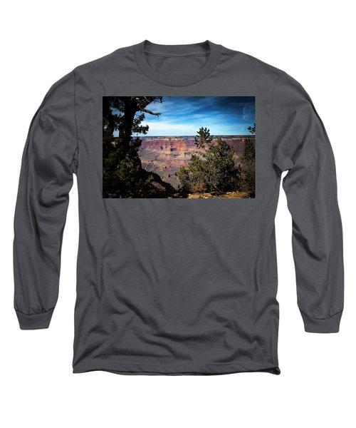 Grand Canyon, Arizona Usa Long Sleeve T-Shirt by James Bethanis
