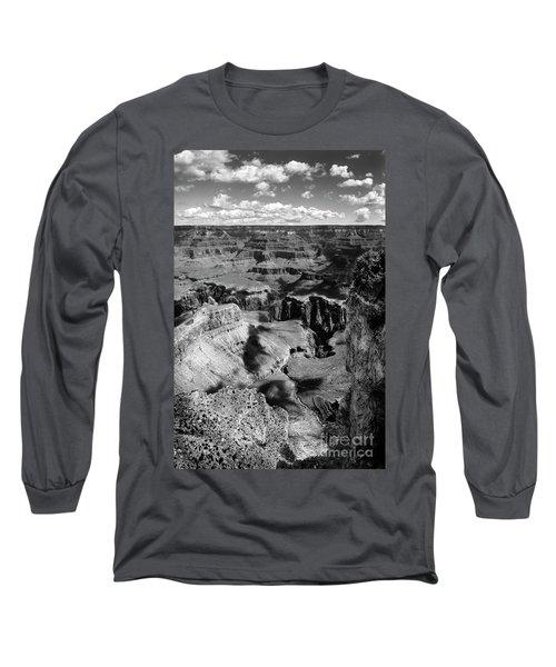 Grand Canyon Bw Long Sleeve T-Shirt by RicardMN Photography