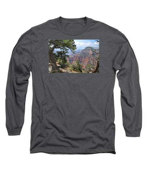 Grand Canyon North Rim - Through The Trees Long Sleeve T-Shirt