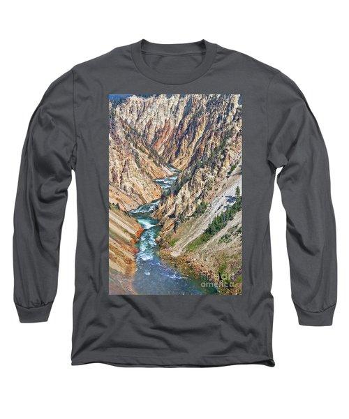 Grand Canyon Of Yellowstone Long Sleeve T-Shirt