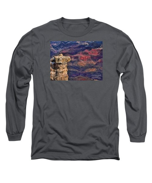 Grand Canyon Stacked Rock Long Sleeve T-Shirt
