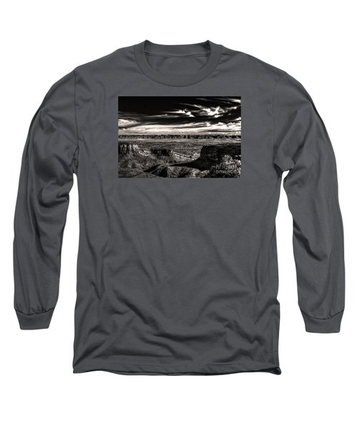 Long Sleeve T-Shirt featuring the digital art Grand Junction In The Valley Below   by William Fields