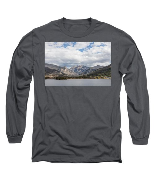 Long Sleeve T-Shirt featuring the photograph Grand Lake -- Largest Body Of Water In Colorado by Carol M Highsmith