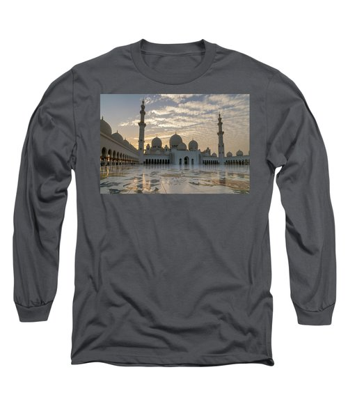 Grand Mosque Sunset Long Sleeve T-Shirt