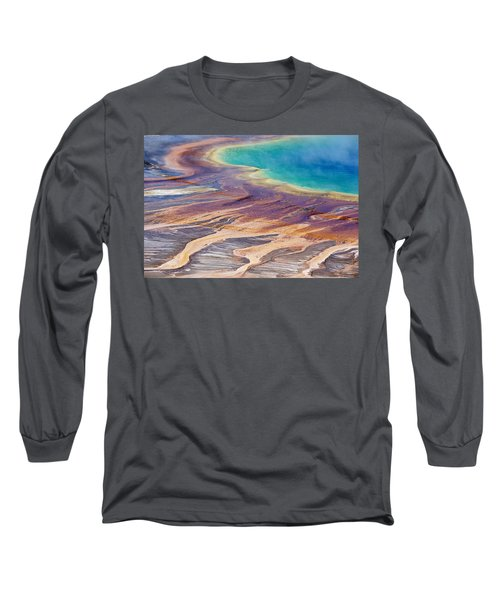 Grand Prismatic Spring 2 Long Sleeve T-Shirt