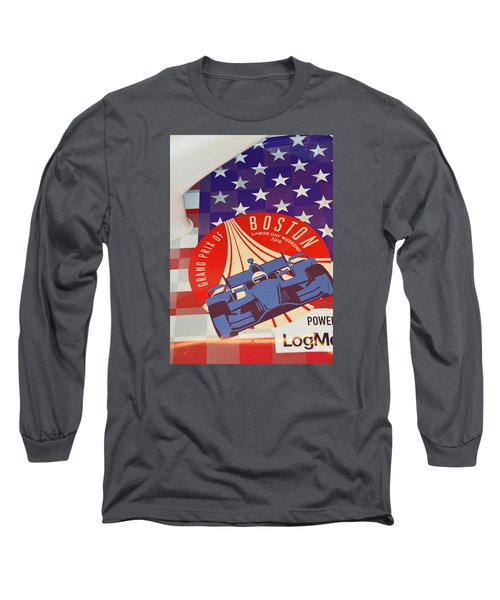 Grand Prix Of Boston Long Sleeve T-Shirt by Mike Martin