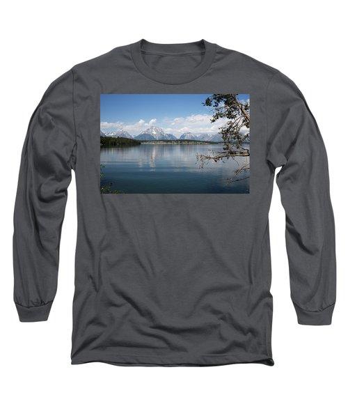 Grand Teton Range Long Sleeve T-Shirt