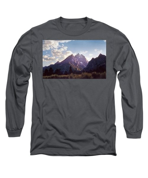 Grand Teton Long Sleeve T-Shirt by Scott Norris