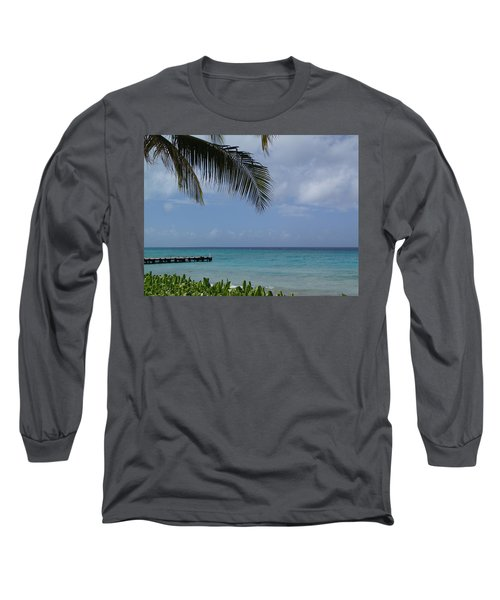 Grand Turk Long Sleeve T-Shirt by Lois Lepisto