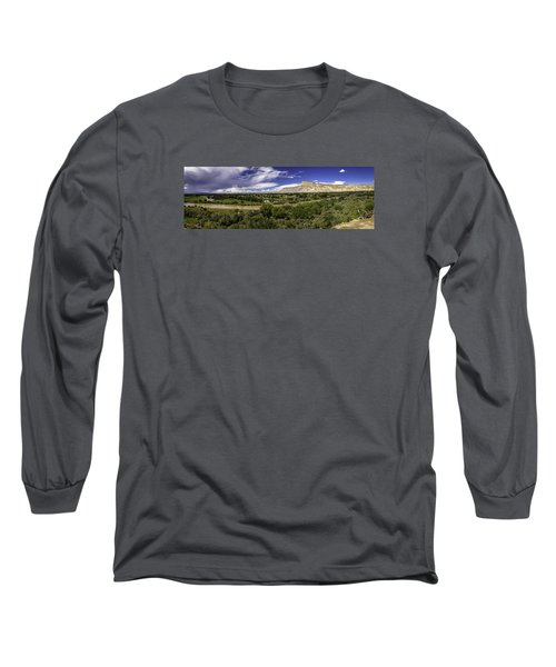 Grand Valley Panoramic Long Sleeve T-Shirt by Teri Virbickis