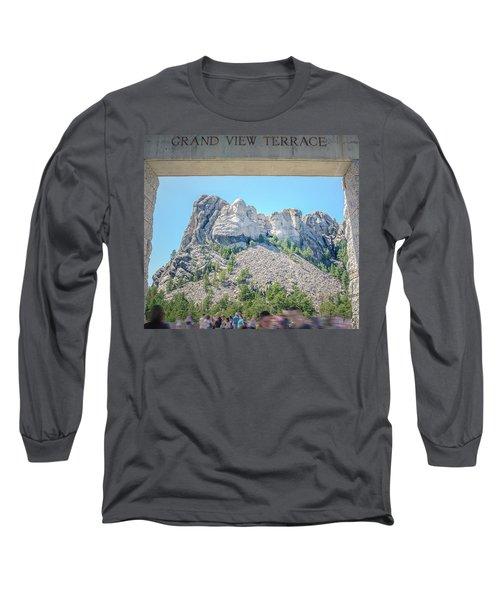 Grand View Long Sleeve T-Shirt by Mark Dunton
