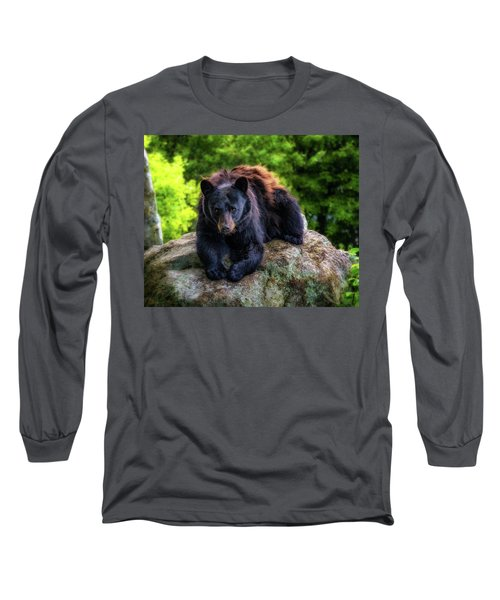 Grandfather Mountain Black Bear Long Sleeve T-Shirt