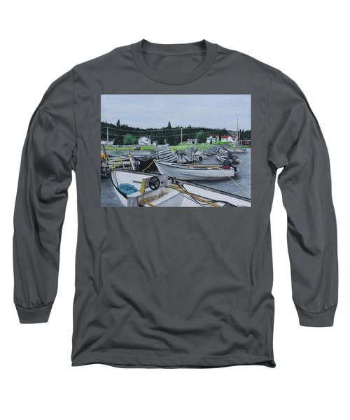 Grandfathers Wharf Long Sleeve T-Shirt