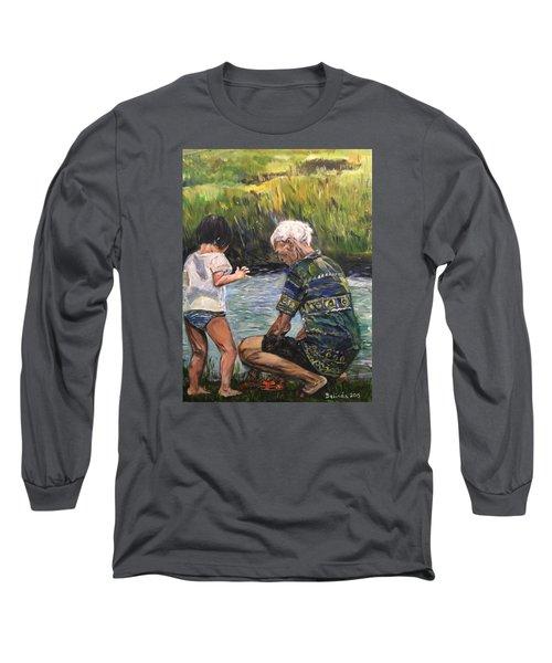 Grandpa And I Long Sleeve T-Shirt
