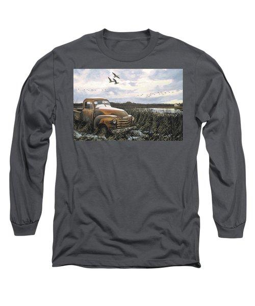 Grandpa's Old Truck Long Sleeve T-Shirt