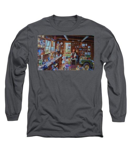 Grandpa's Workshop. Long Sleeve T-Shirt