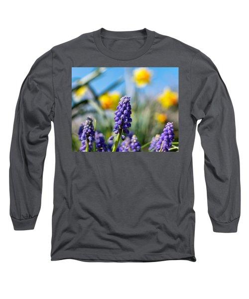 Grape Hyacinth Long Sleeve T-Shirt