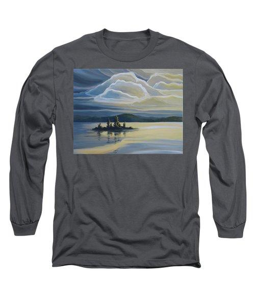 Grape Island Long Sleeve T-Shirt
