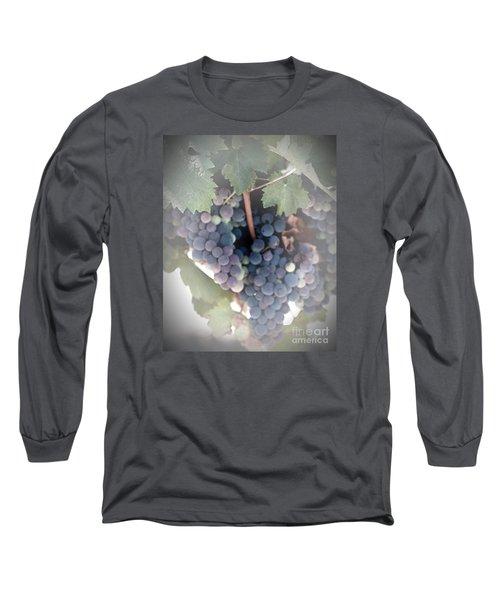 Grapes On The Vine I Long Sleeve T-Shirt
