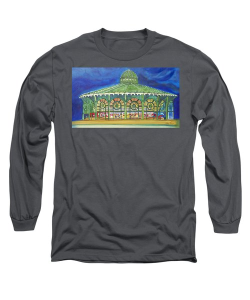 Long Sleeve T-Shirt featuring the painting Grasping The Memories by Patricia Arroyo