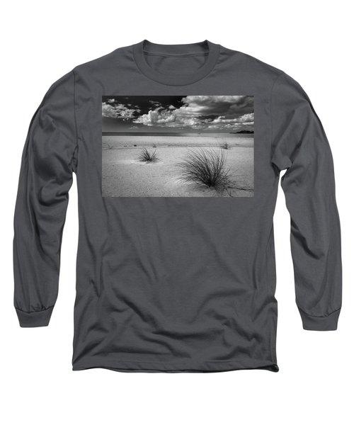 Grasses On The Beach Long Sleeve T-Shirt
