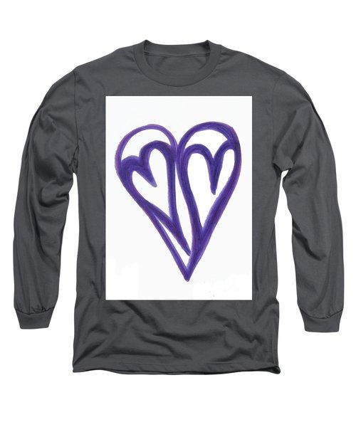 Grateful Heart Thoughtful Heart Long Sleeve T-Shirt