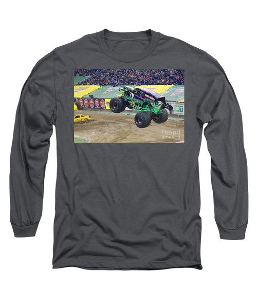 Grave Digger  Long Sleeve T-Shirt by Michael Rucker