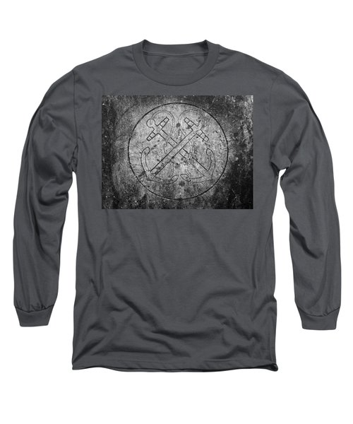 Grave Of Cadet Soady Macroom Ireland Long Sleeve T-Shirt