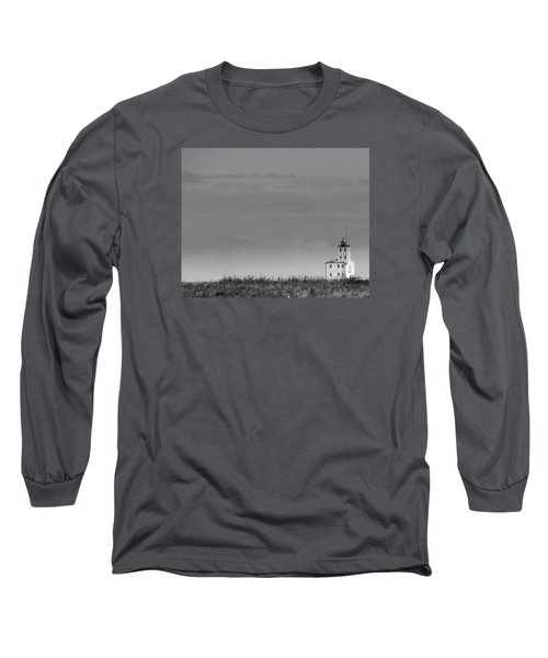 Gray Harbor In Wisconsin Long Sleeve T-Shirt