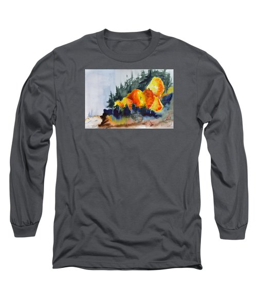 Great Balls Of Fire Long Sleeve T-Shirt by Beverley Harper Tinsley
