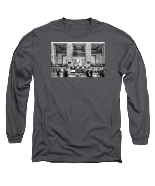 Long Sleeve T-Shirt featuring the photograph Great Central Station by Sabine Edrissi