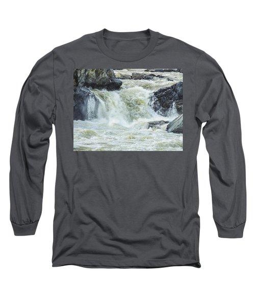 Great Falls Of The Potomac Long Sleeve T-Shirt