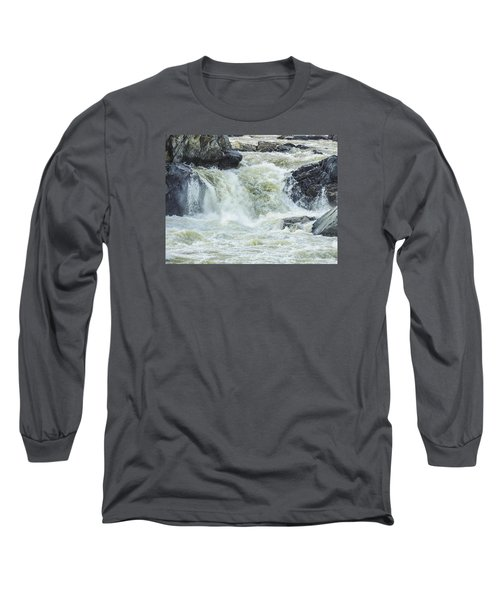 Great Falls Of The Potomac Long Sleeve T-Shirt